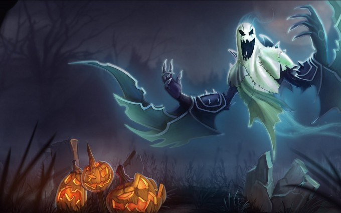 halloween wallpapers ghost