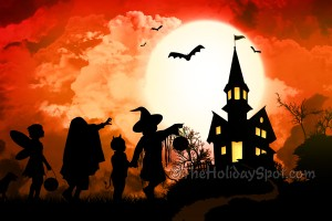 halloween wallpapers orange background