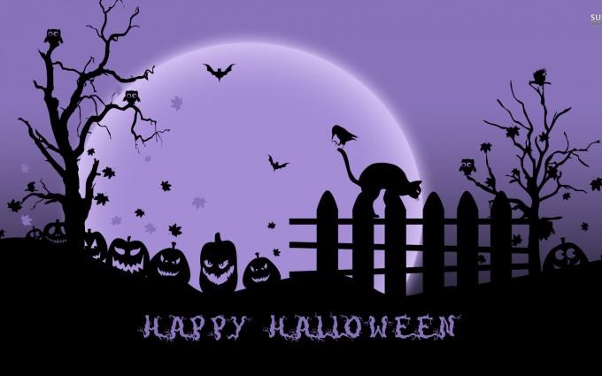 halloween wallpapers purple