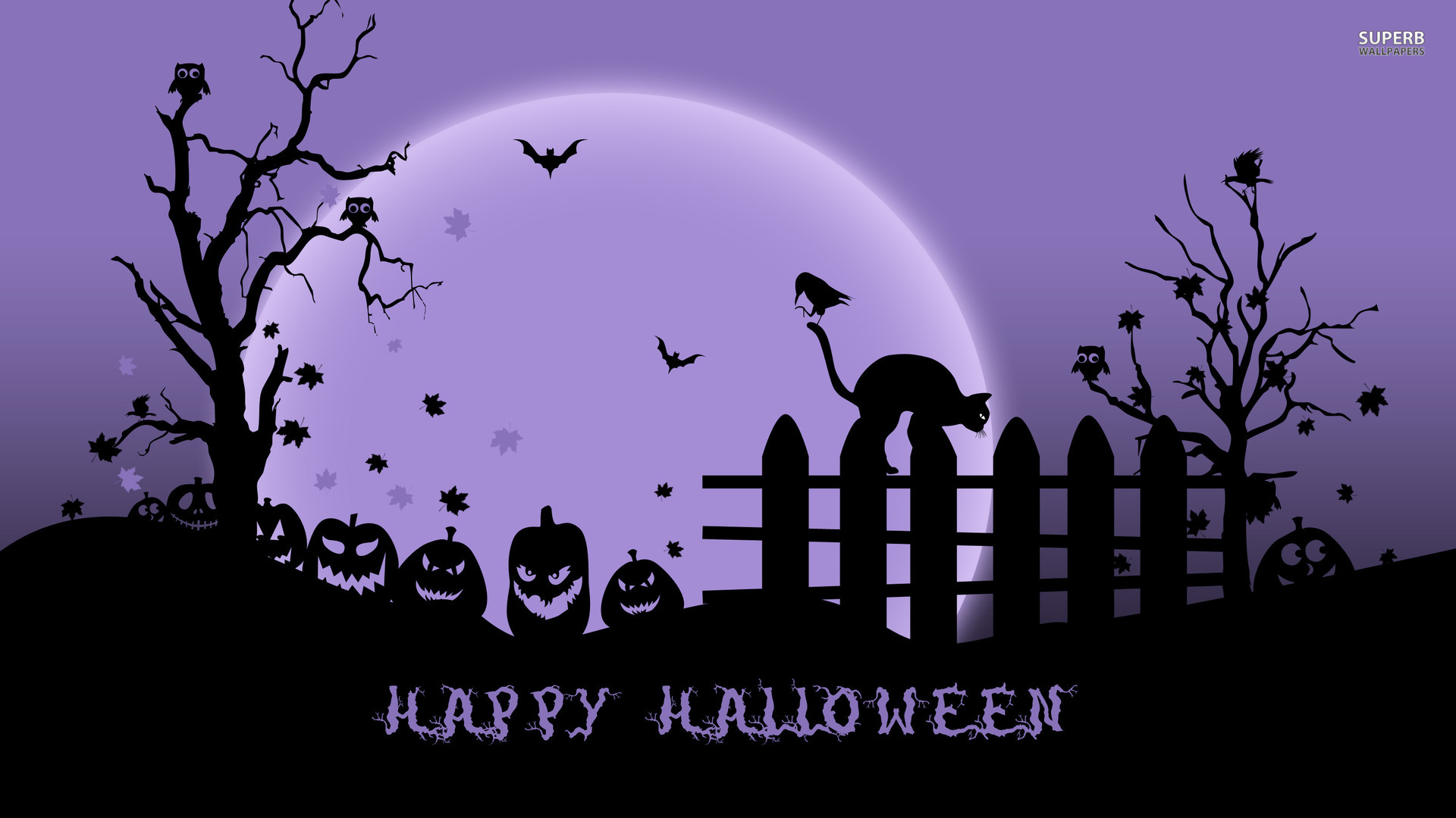 halloween wallpapers purple