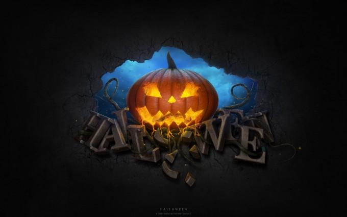 halloween wallpapers widescreen