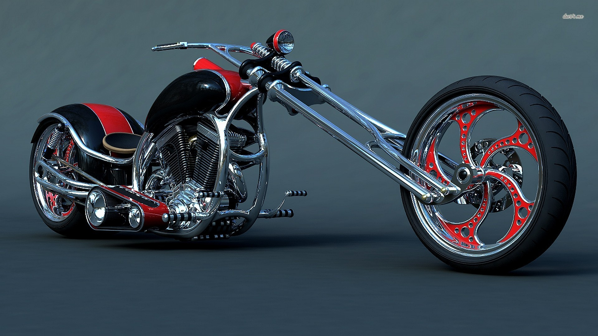 Download Harley Davidson 883 2048 X 2048 Wallpapers: Harley Davidson Wallpaper Custom Chopper