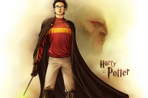 harry potter wallpaper cartoon