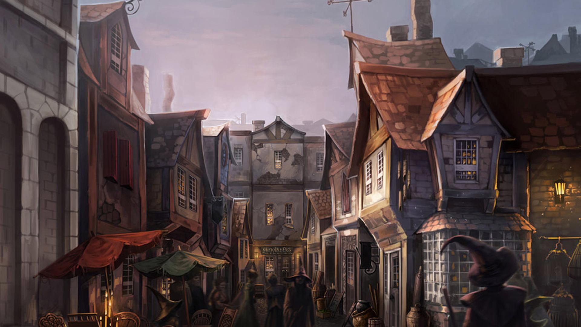 harry potter wallpaper diagon alley