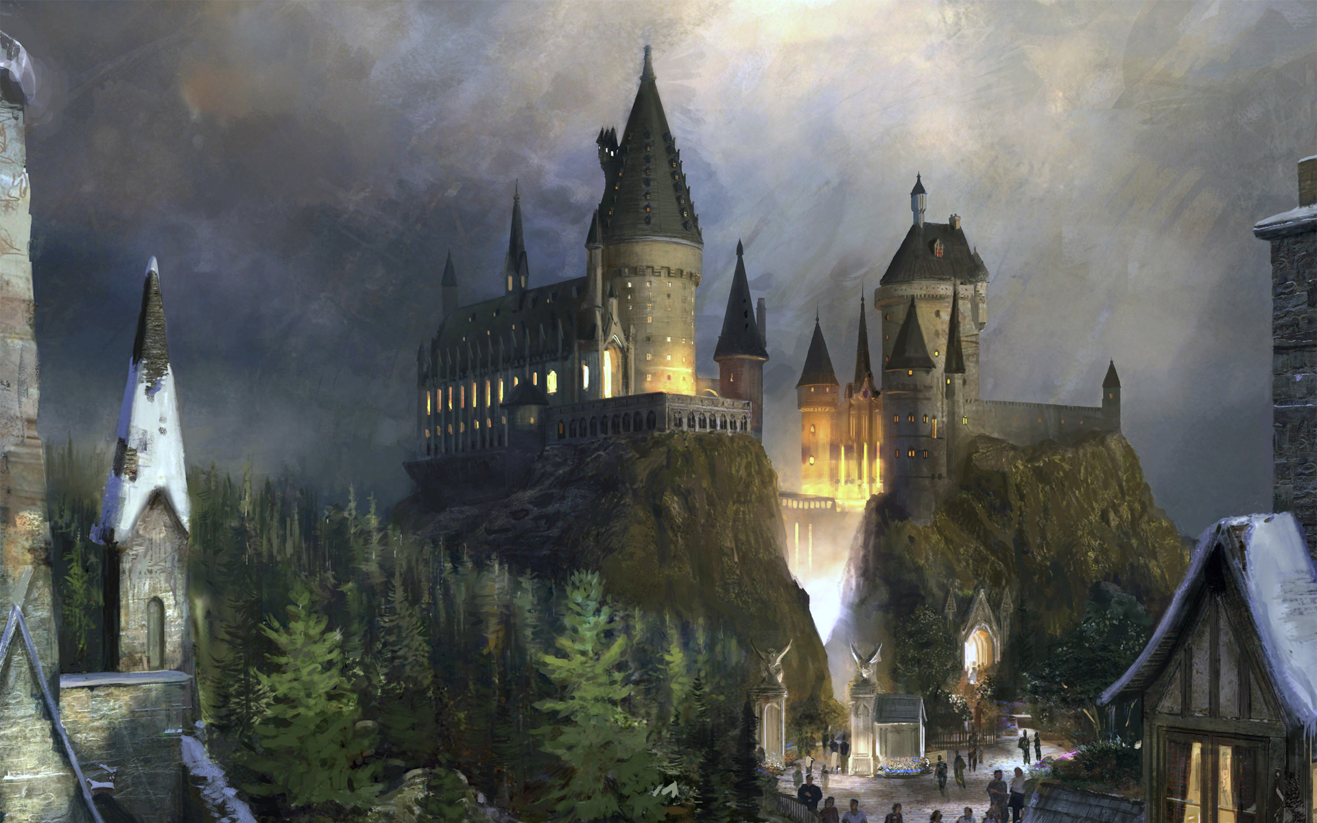 harry potter wallpaper school