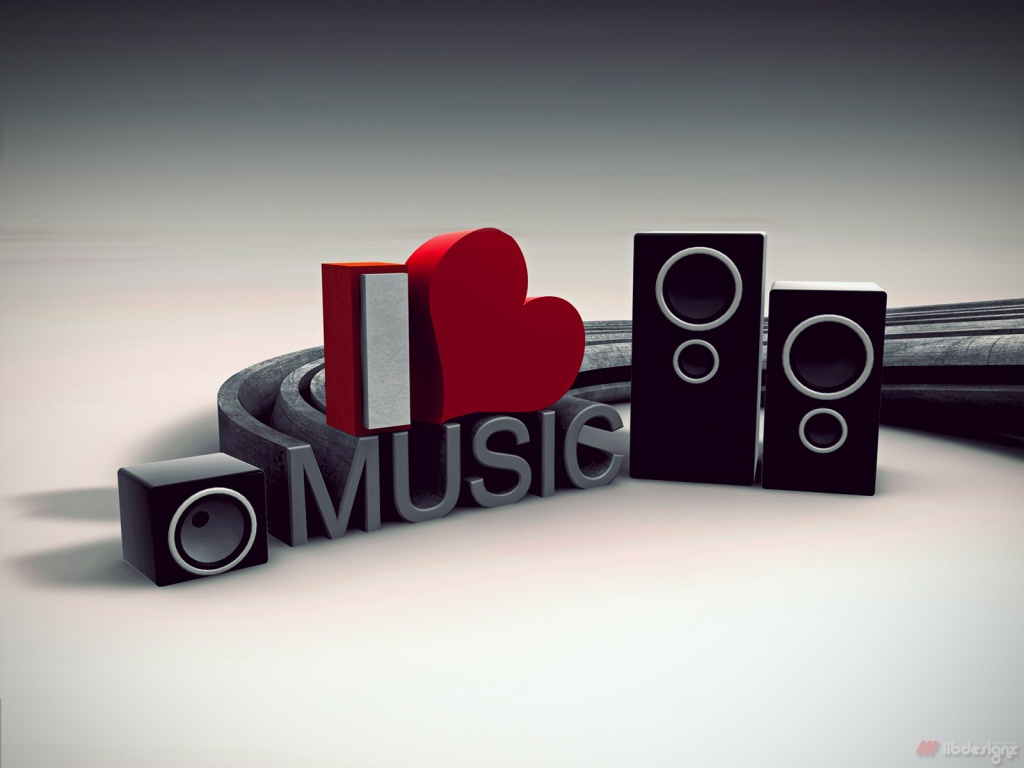 i love music wallpaper