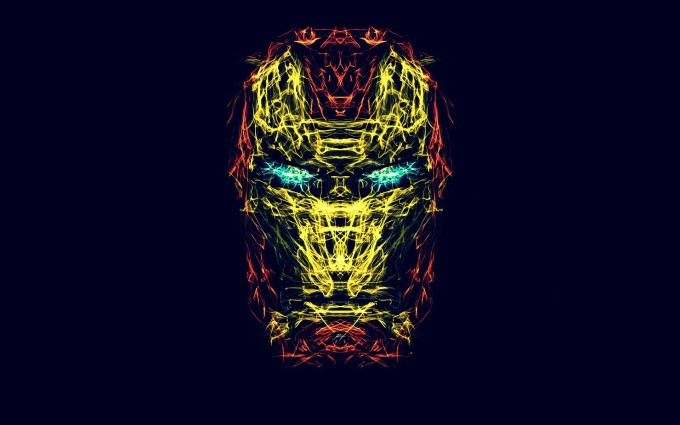 iron man wallpaper abstract