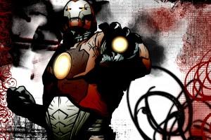 iron man wallpaper cartoon
