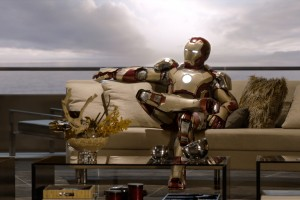 iron man wallpaper chilling