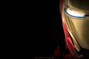 iron man wallpaper close up