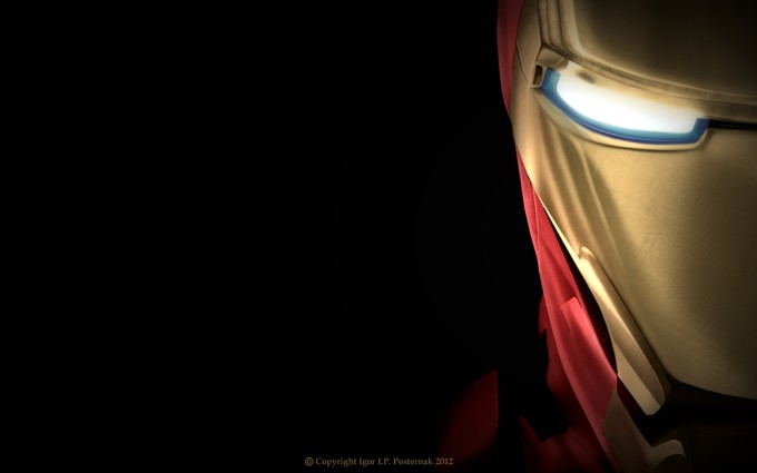 iron man wallpaper close up