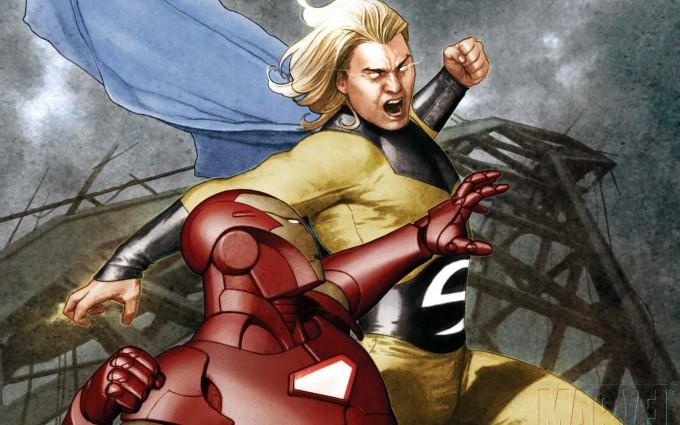 iron man wallpaper fight