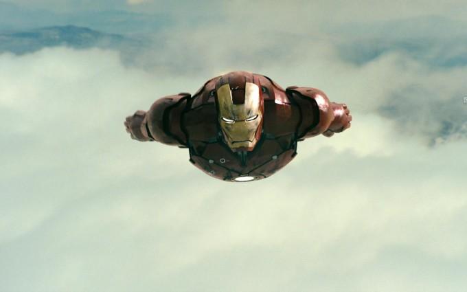 iron man wallpaper flying