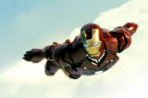 iron man wallpaper flying right