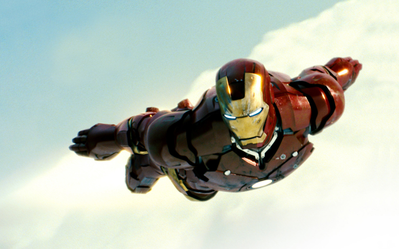 iron man wallpaper flying right