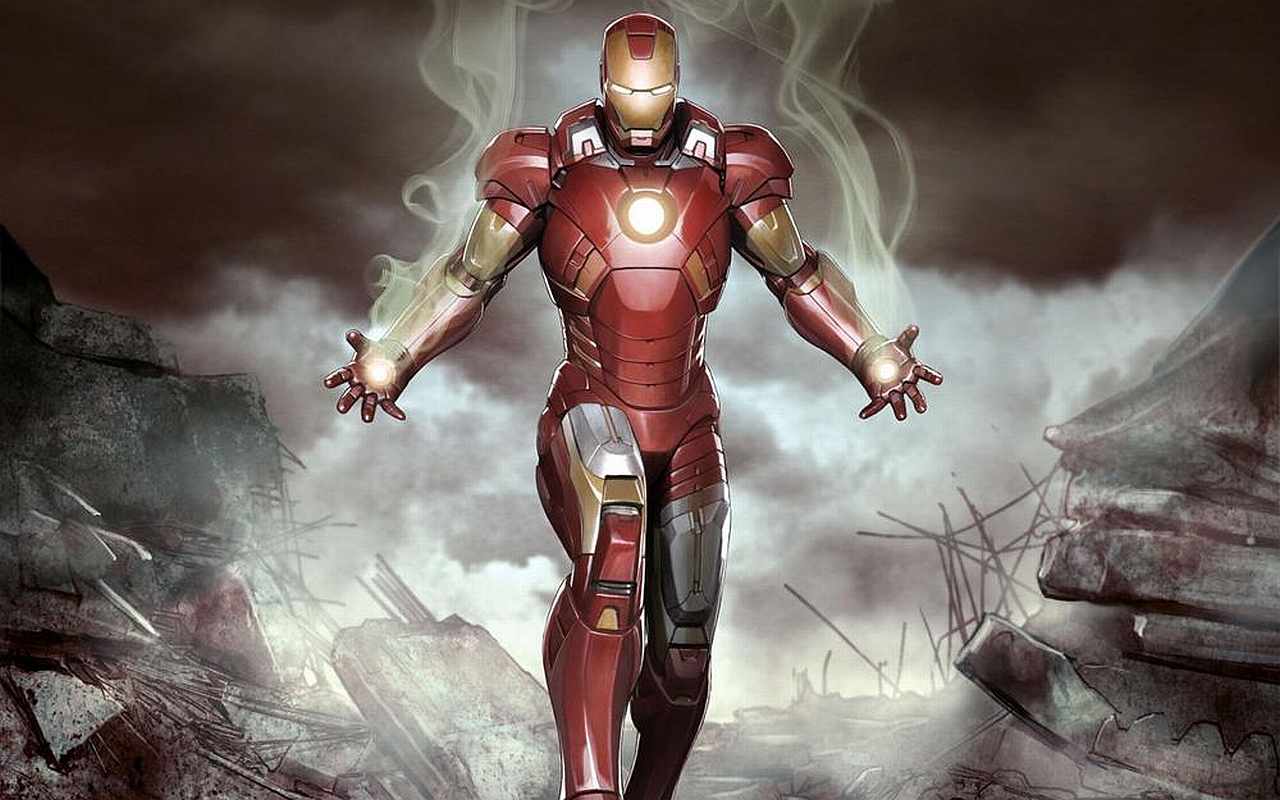 iron man wallpaper intensity
