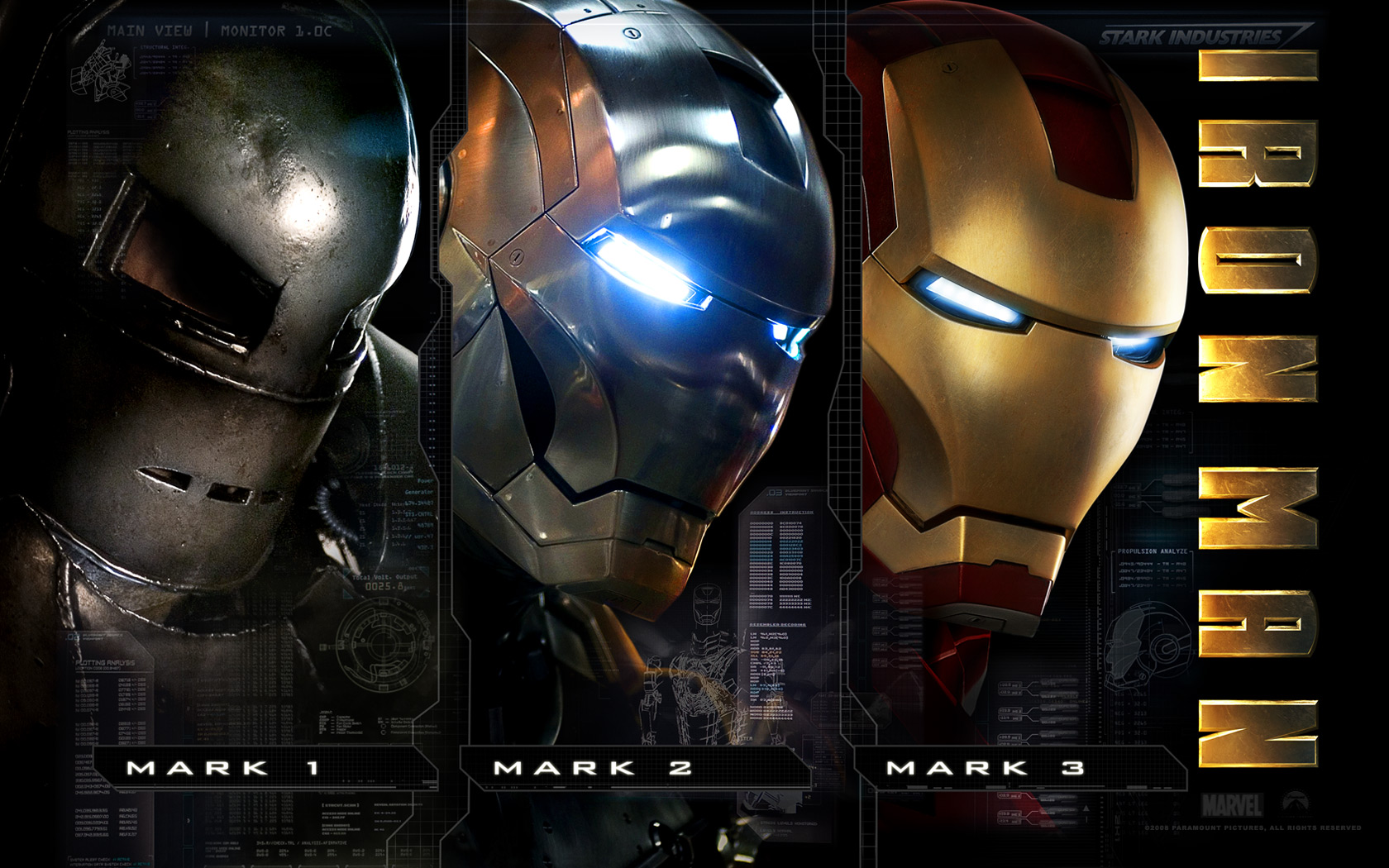 iron man wallpaper mark variants