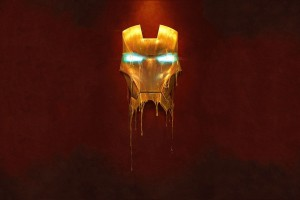 iron man wallpaper mask bleed