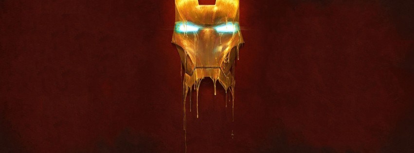 melting iron man mask - photo #4