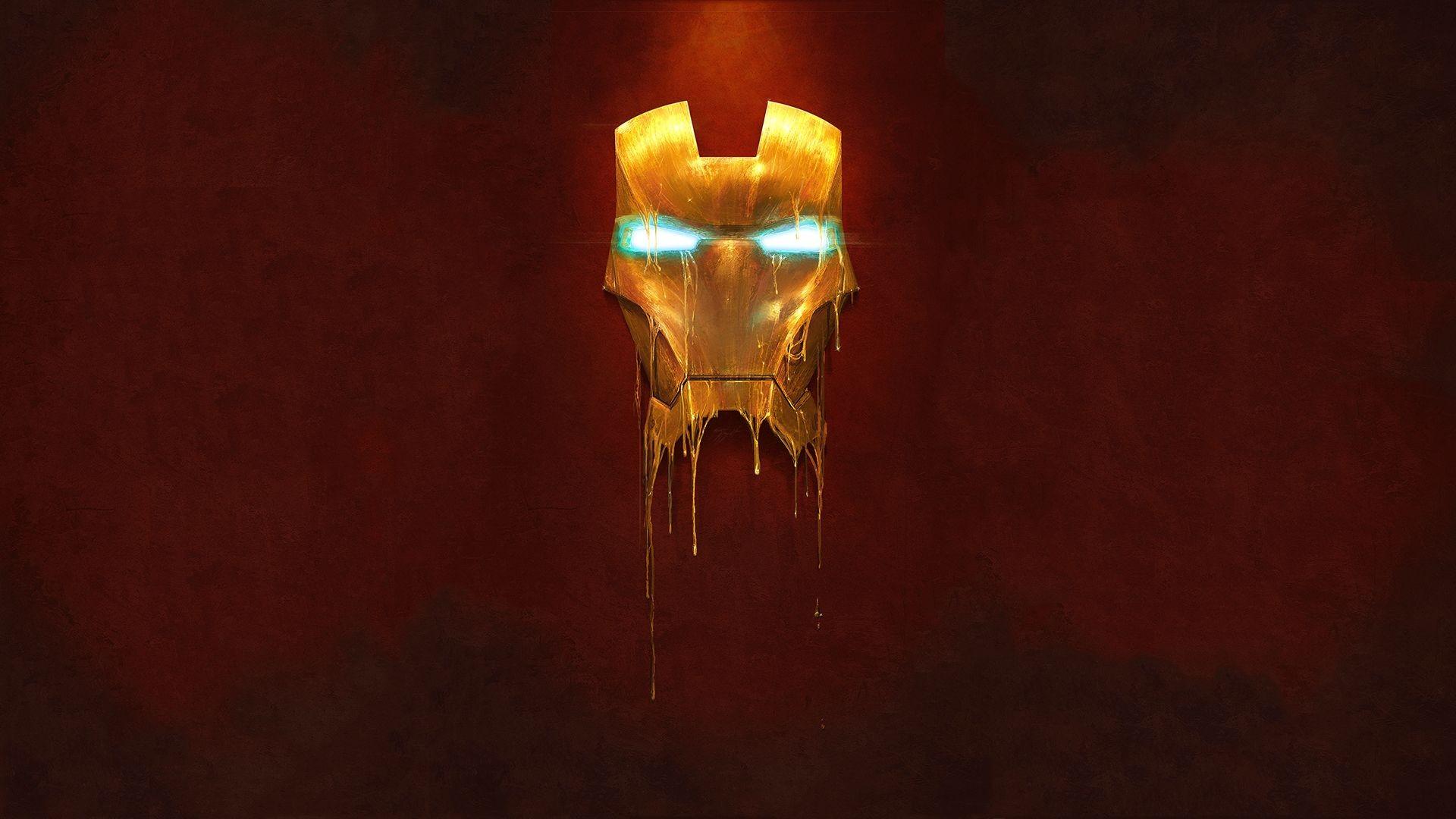 iron man wallpaper mask bleed