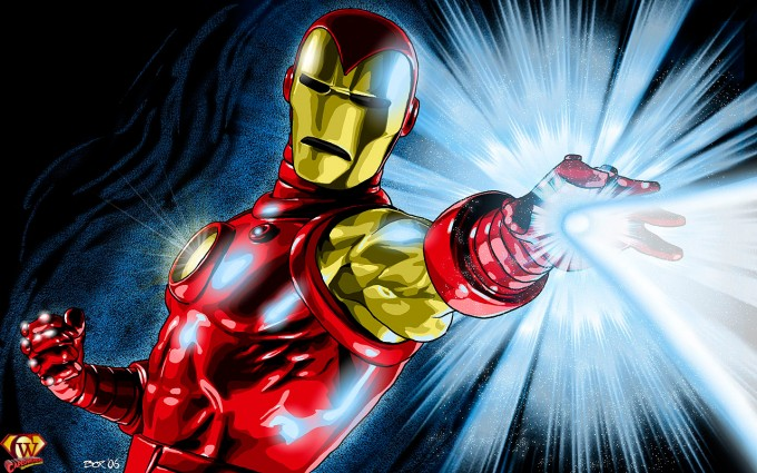 iron man wallpaper power