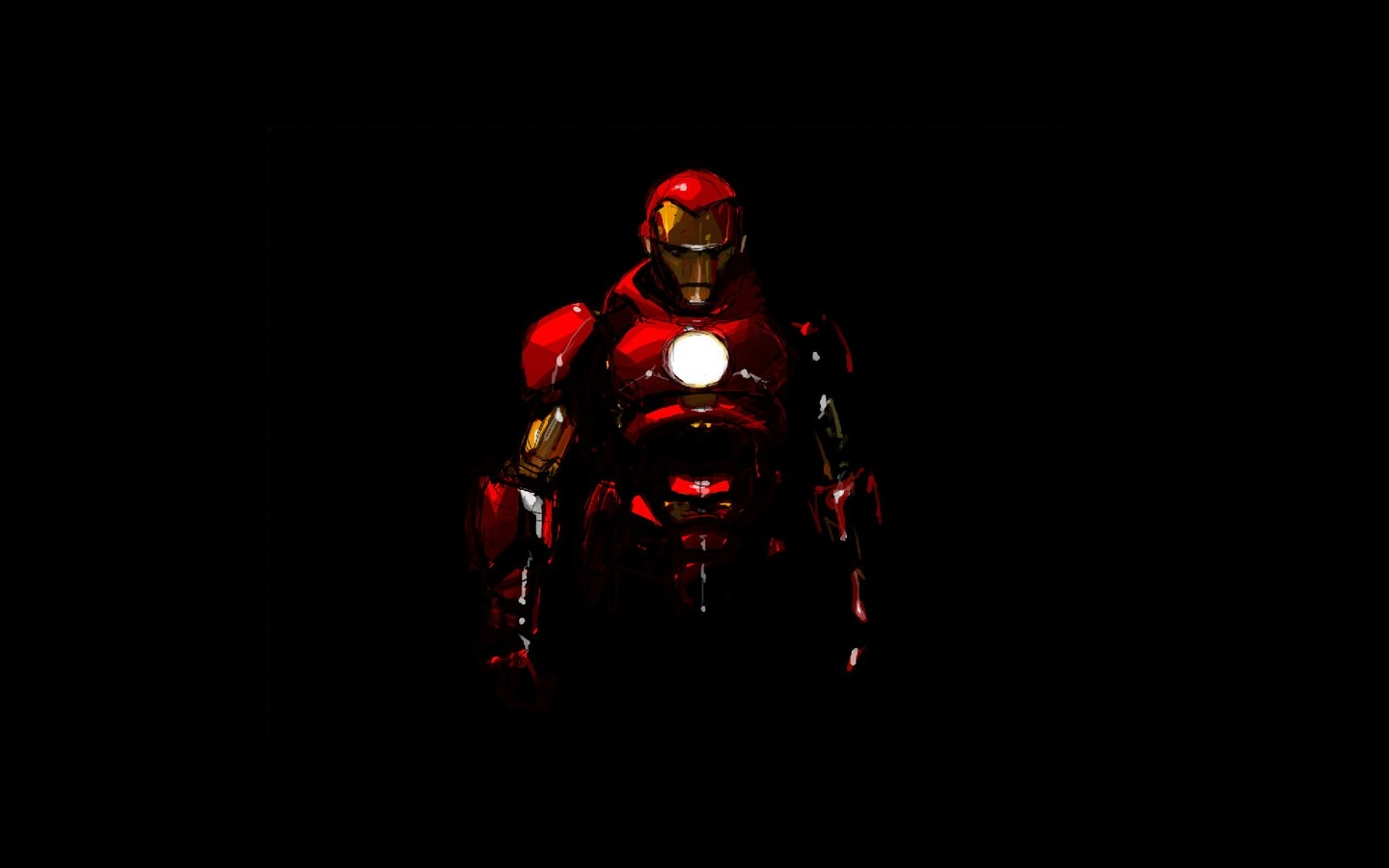 Iron Man Wallpaper Pure Red