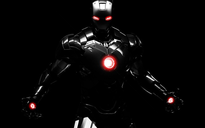 iron man wallpaper pure steel