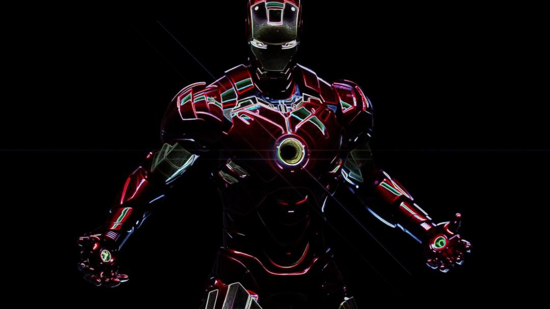 Iron man wallpaper sketch hd desktop wallpapers 4k hd - Iron man cartoon hd ...