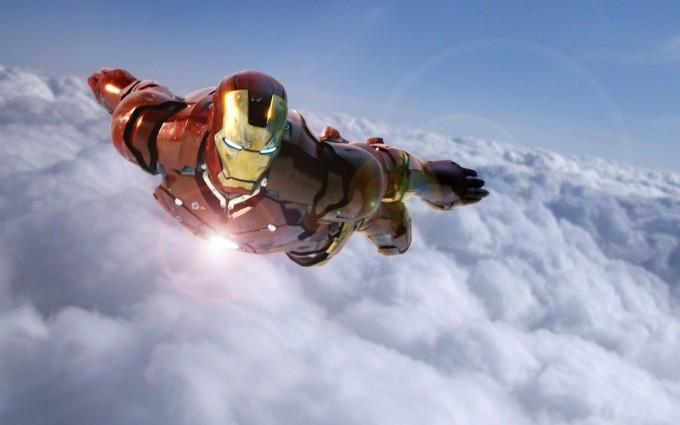iron man wallpaper sky