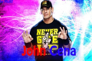 john cena wallpaper colorful
