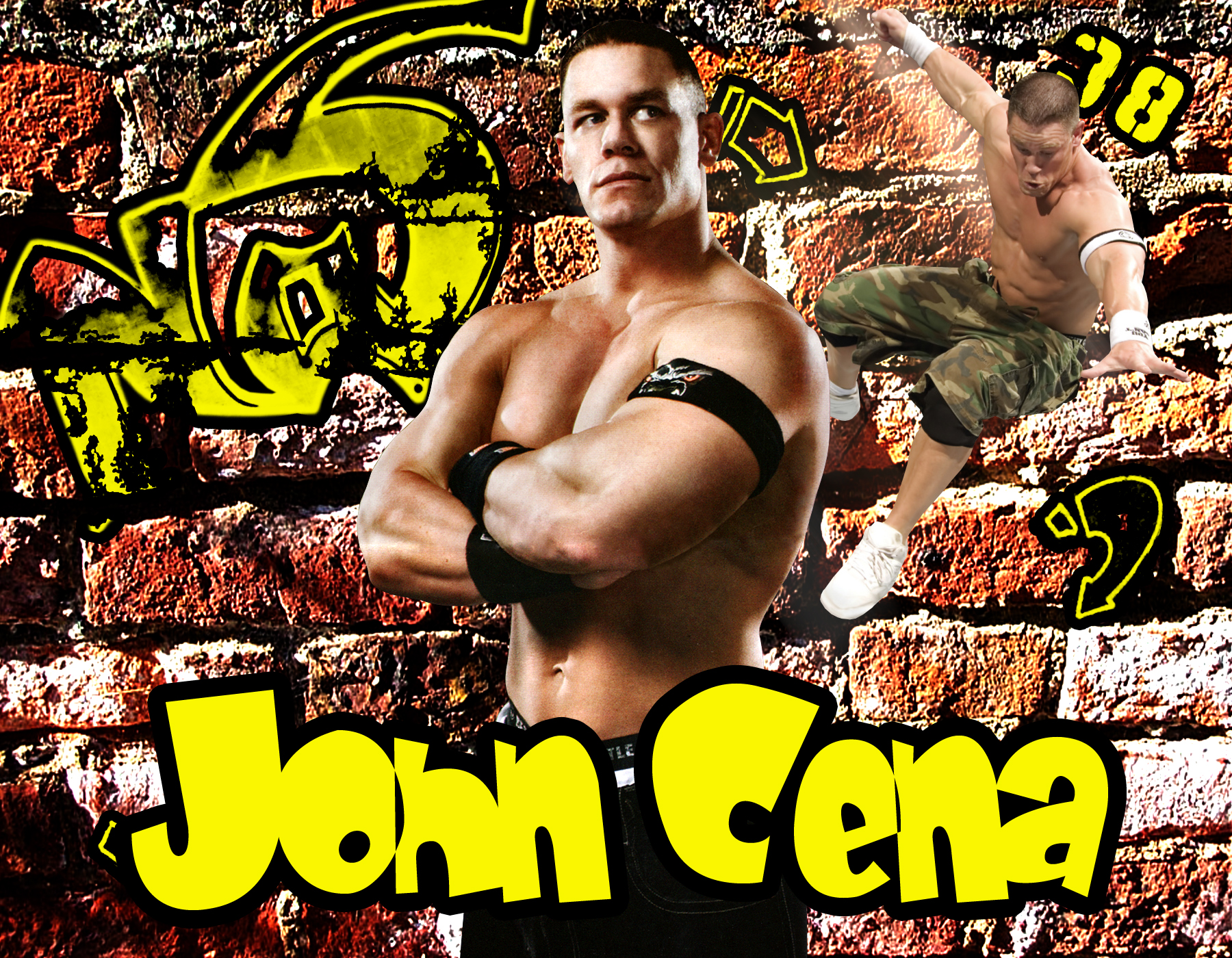 john cena wallpaper humble
