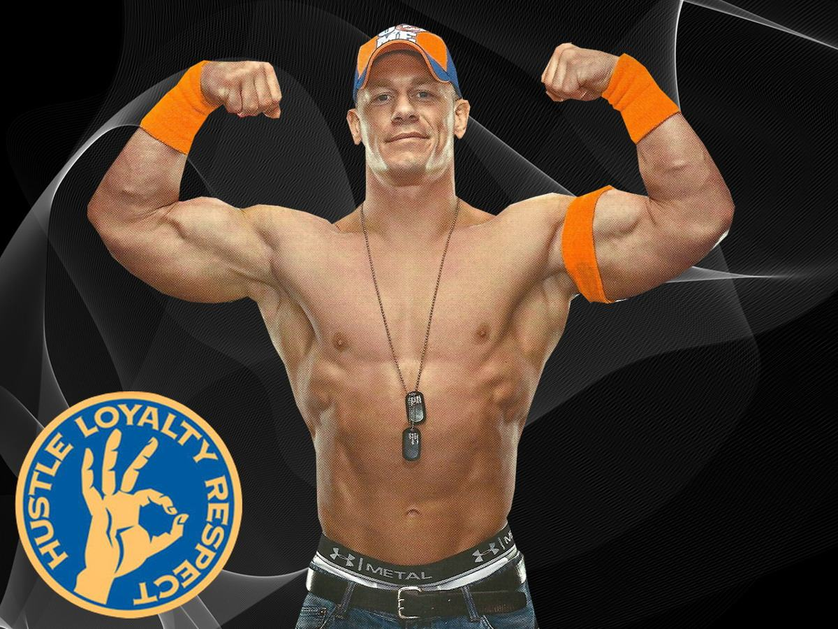 john cena wallpaper muscle power