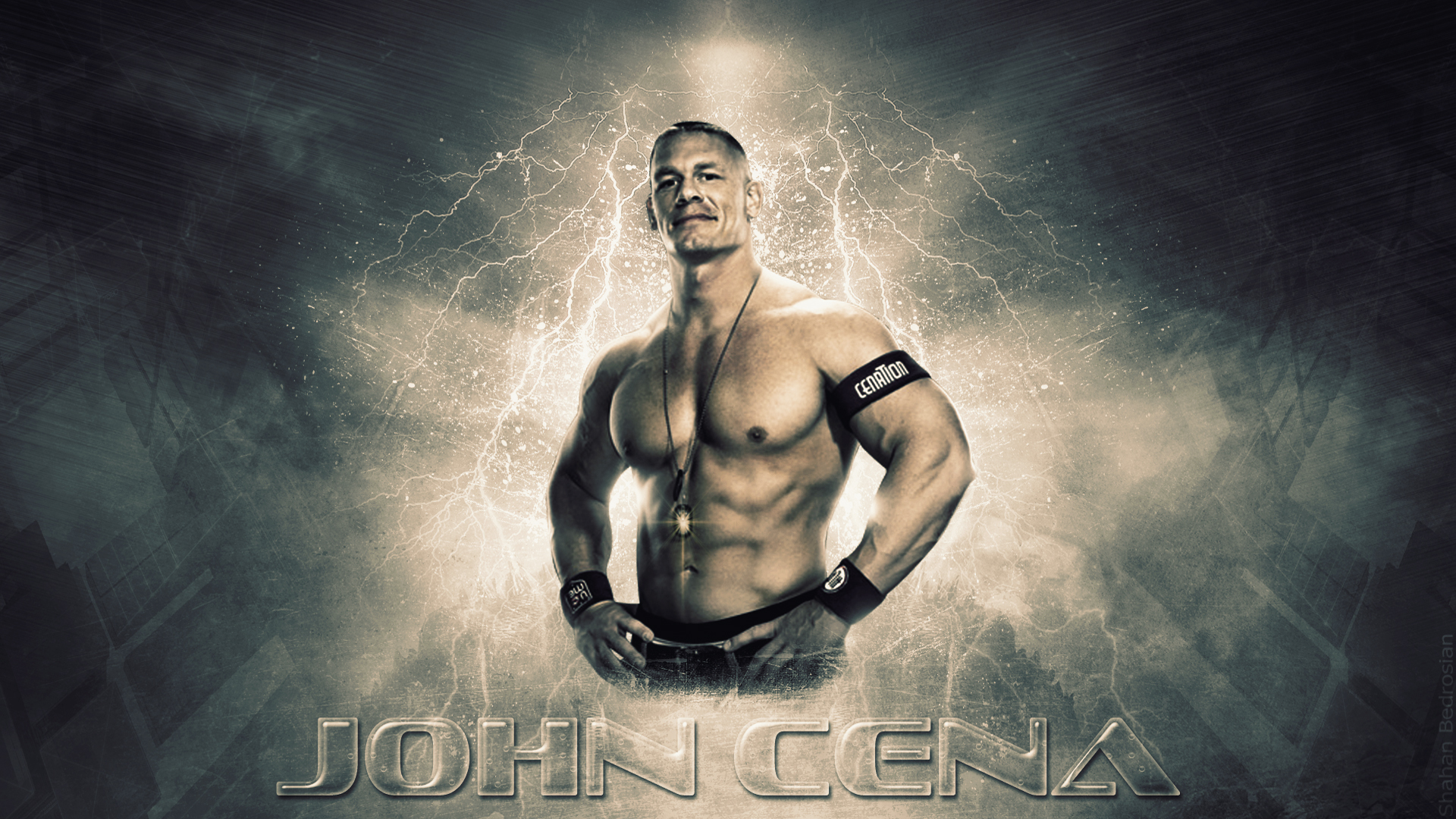 john cena wallpaper muscle