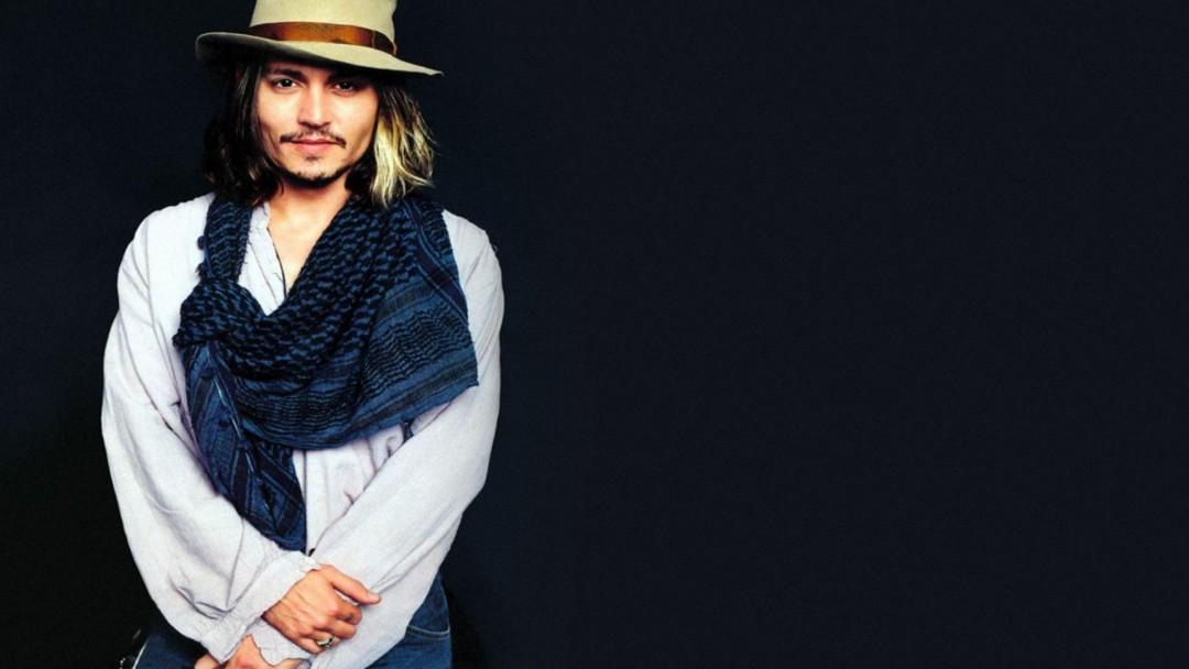 Johnny Depp Wallpaper Blue - HD Desktop Wallpapers