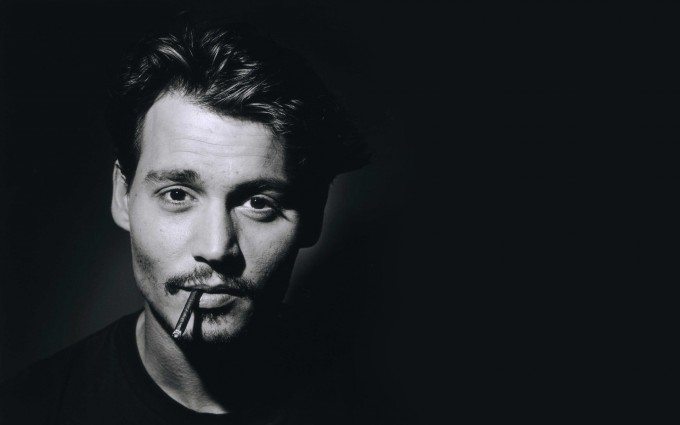 johnny depp wallpaper cigar