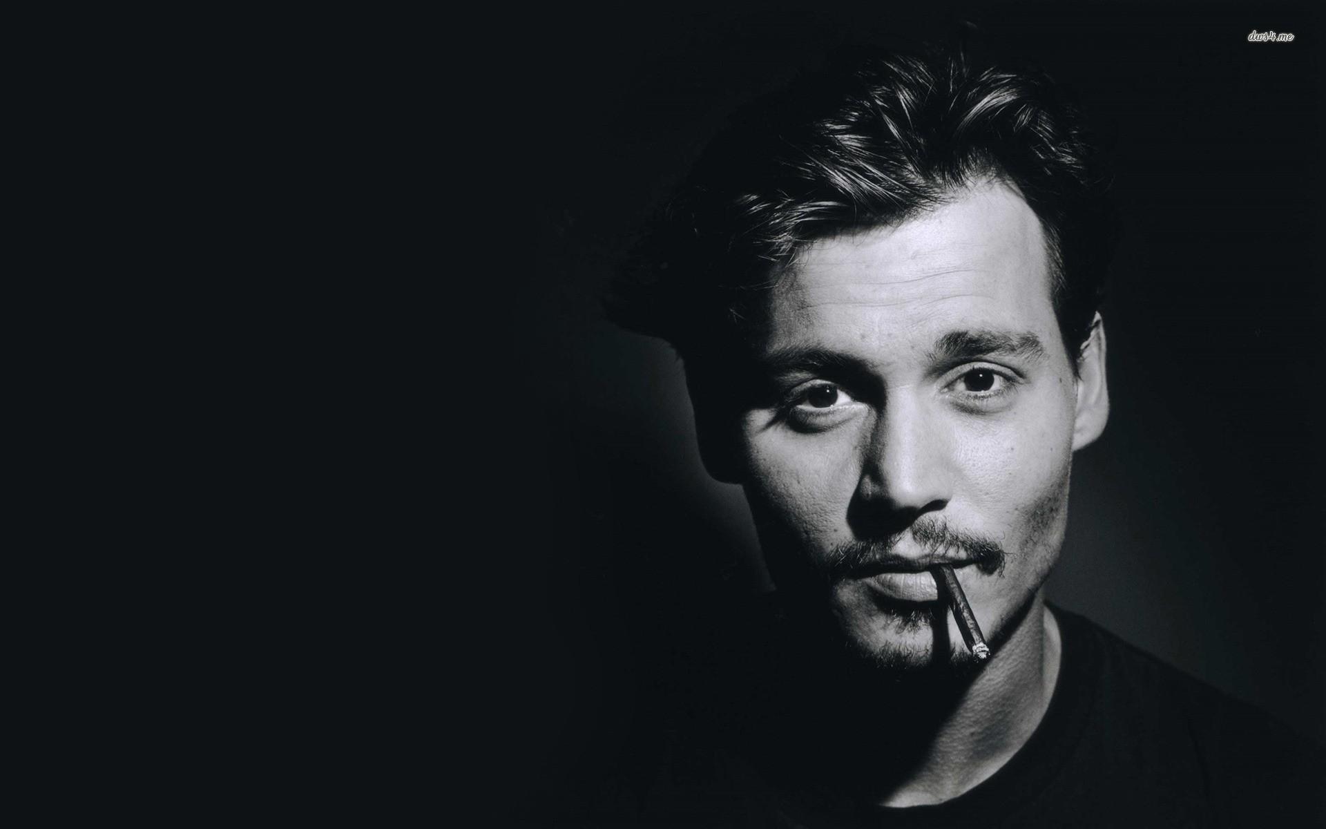 Johnny Depp Wallpaper Cigar Hd - HD Desktop Wallpapers