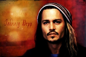 johnny depp wallpaper orange
