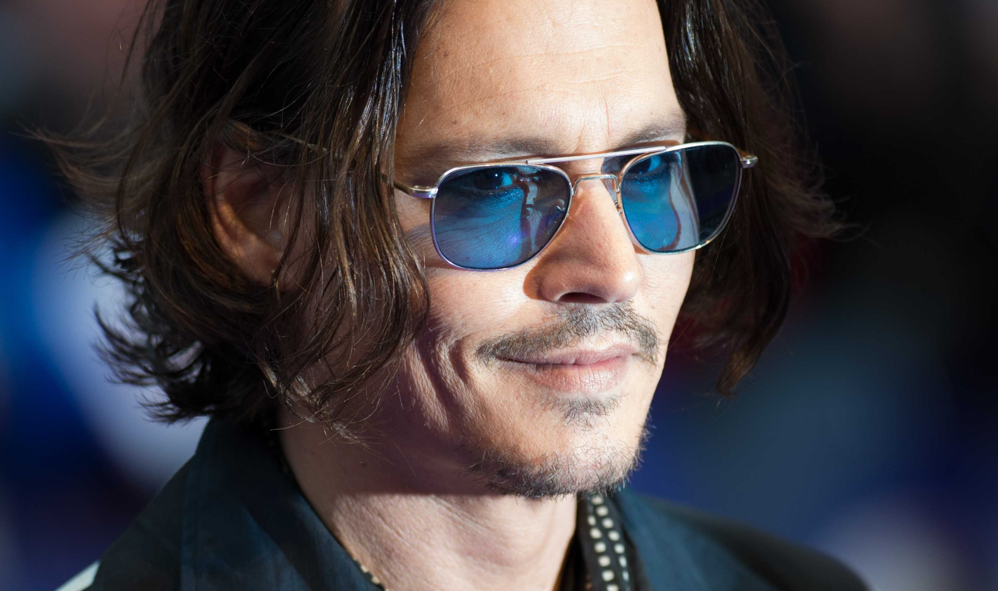 johnny depp wallpaper shades