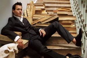 johnny depp wallpaper stairs