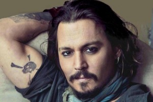 johnny depp wallpaper tatoo