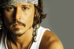 johnny depp wallpaper white