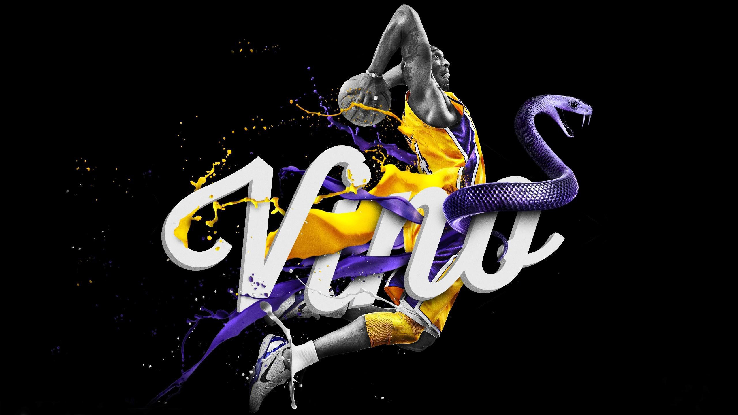 lakers wallpaper black