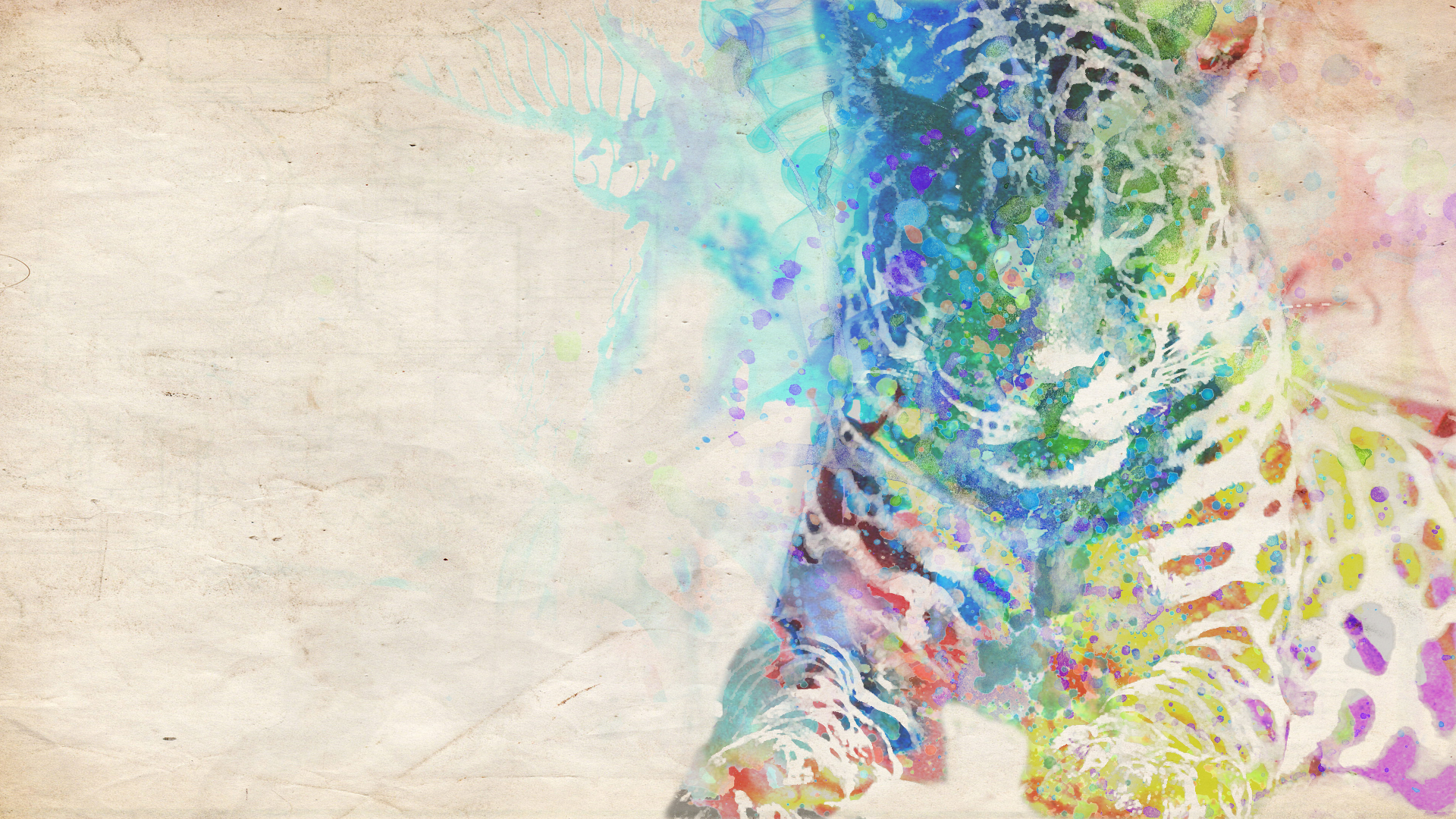 leopard wallpaper art