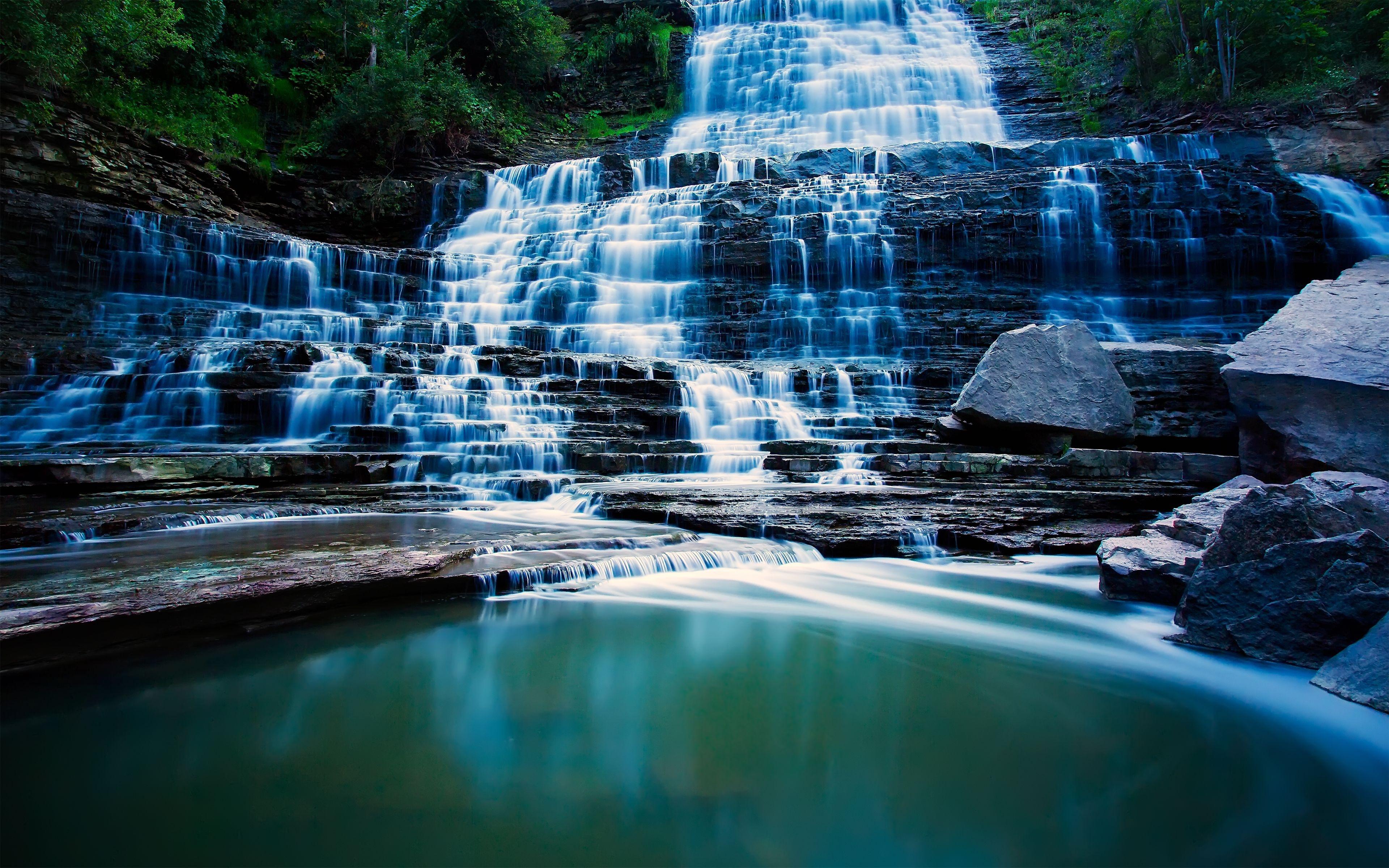 live waterfall wallpaper