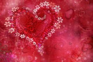 love wallpaper abstract pink