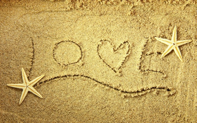 love wallpaper beach cute