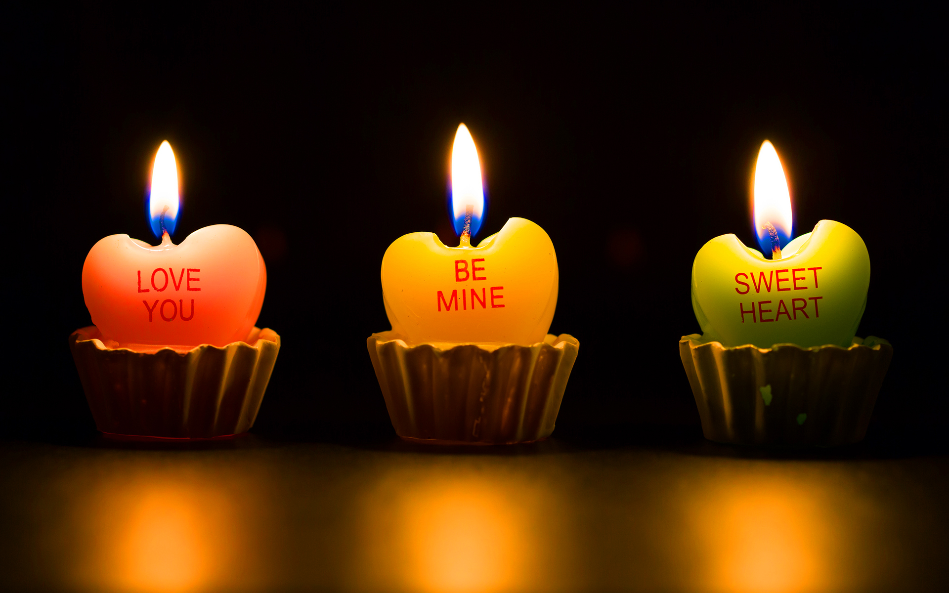 love wallpaper candel