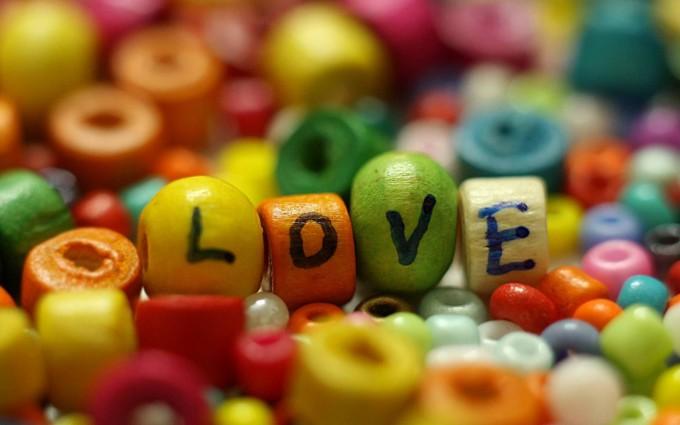 love wallpaper colorful