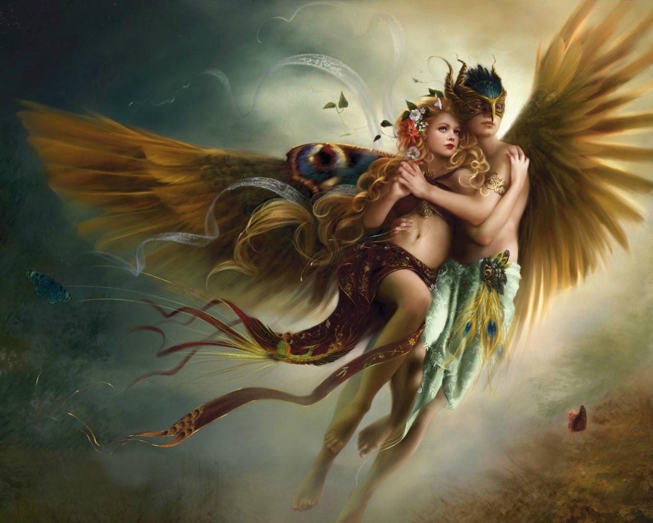 love wallpaper couple fantasy download