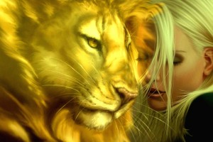 love wallpaper fantasy lion